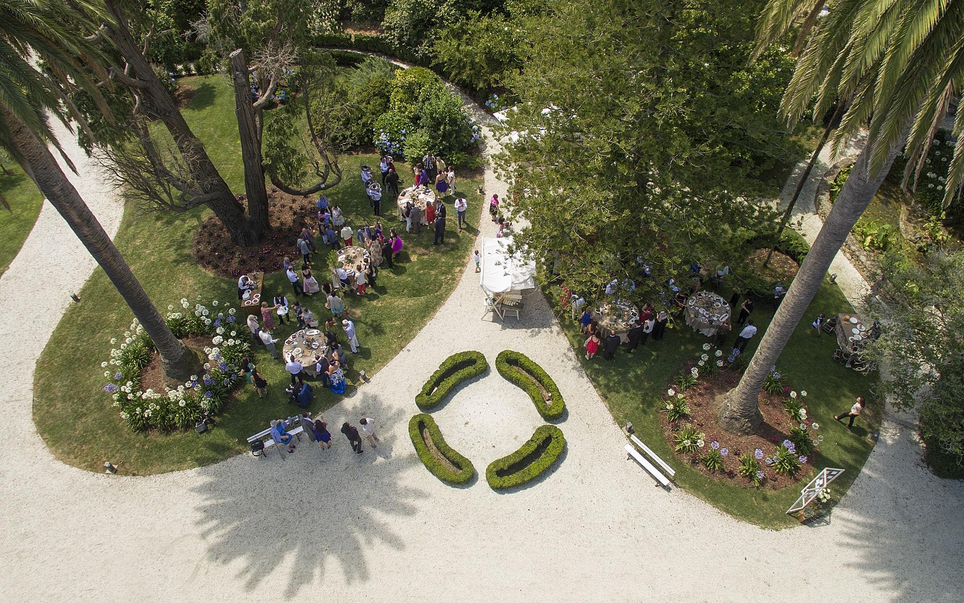 pazo da golpelleira espacio eventos jardines b