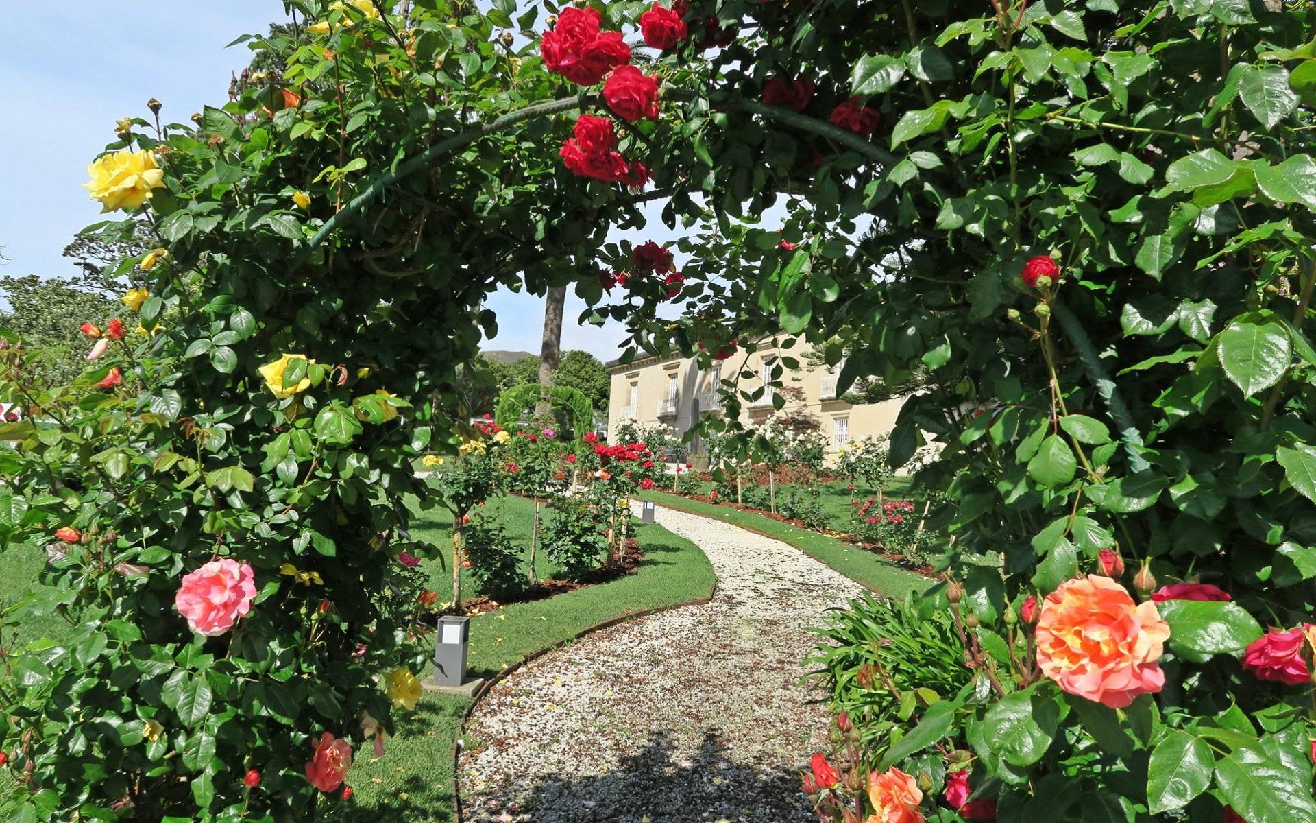 pazo golpelleira jardines entorno f