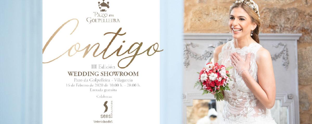 Showroom para bodas Contigo Pazo da Golpelleira